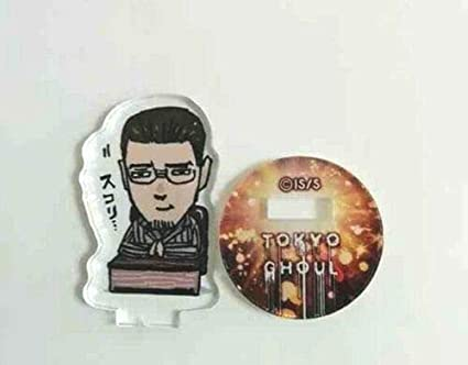 Amazon Com Tokyo Ghoul Acrylic Mini Stand Figure Matsuri Washu Sui Ishida Jump Anime F S Toys Games