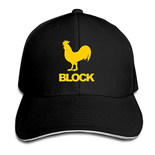 Unisex Cock Block Baseball Cap Dad Hat Peaked Flat Trucker Hats ()