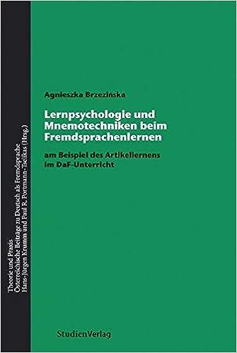 Lernpsychologie und Mnemotechniken beim Fremdsprachenlernen: am ...