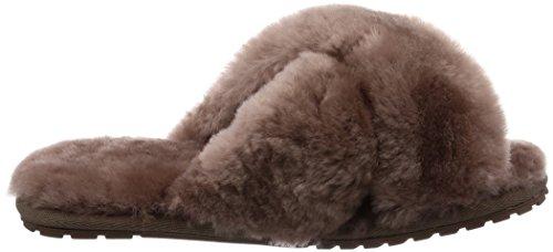 Mushroom Mayberry 8 Emu Wicking Sheepskin Soft Women's Slipper YFxnROq