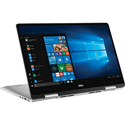Dell Inspiron 7000 2-in-1 Touchscreen Laptop 15.6″ FHD, 24GB RAM, 256GB SSD+1TB HDD, i5-8265U 4 Cores up to 3.90GHz, Backlit, Fingerprint, USB-C, Webcam, 1920×1080, HDMI, Bluetooth, Win 10, Silver