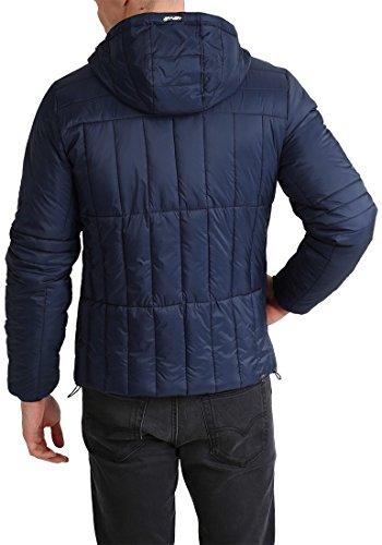 BLEND Santiago - Giacca invernale da Uomo, taglia:L;colore:Dark Blue (74629)