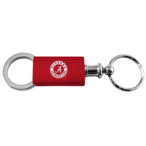 LXG, Inc. University of Alabama - Anodized Aluminum Valet Key Tag - Crimson