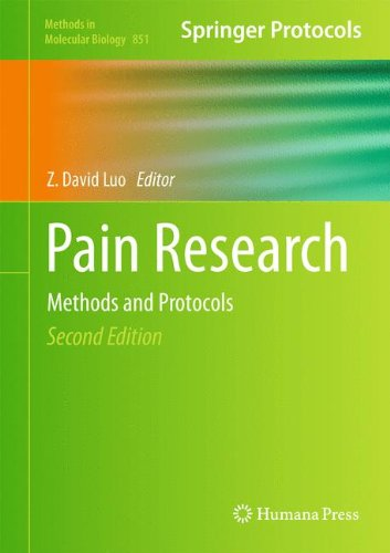 Pain Research  Methods And Protocols  Methods In Molecular Biology