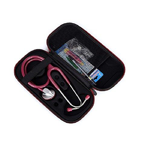 Funda para los médicos/enfermeras estetoscopio Carrying Case cubierta de la caja Bolsa para 3 M Littmann/tablero DM/ADC/Omron estetoscopio/: Amazon.es: Industria, empresas y ciencia