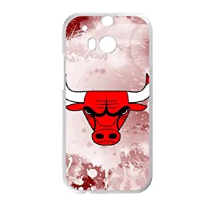 Bulls logo Phone high quality Case for HTC One M8