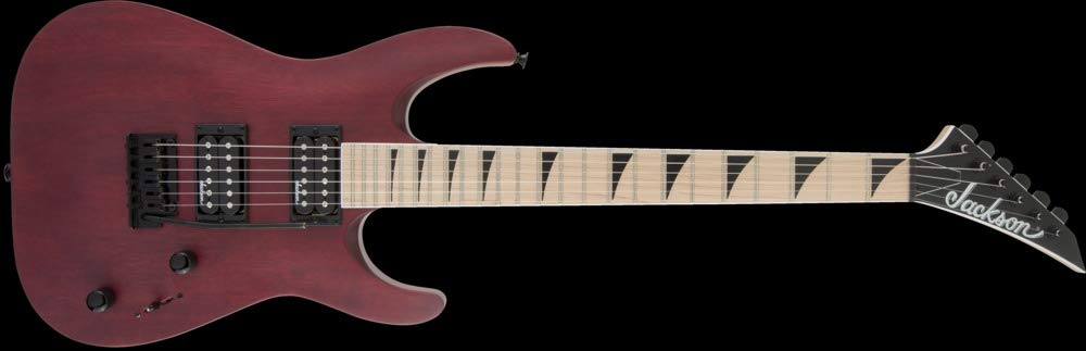 Jackson JS Series Dinky Arch Top JS22 DKAM - Red Stain by Jackson