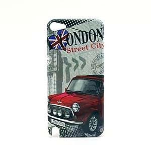 CL - Famouse Londres el Big Ben con el modelo de coche duro caso para el iPod Touch 5
