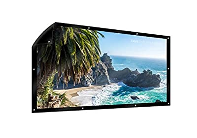 FAVI 72-inch (16:9) Manual Projection Screen - US Version (Includes Warranty) - DIY Series (PD-HD-72)
