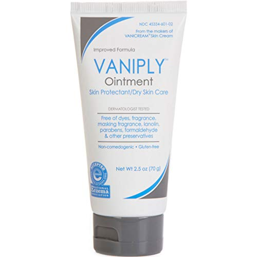 Vaniply Ointment for Dry Skin Care/Skin Protectant, 2.5 Oz (3pack)