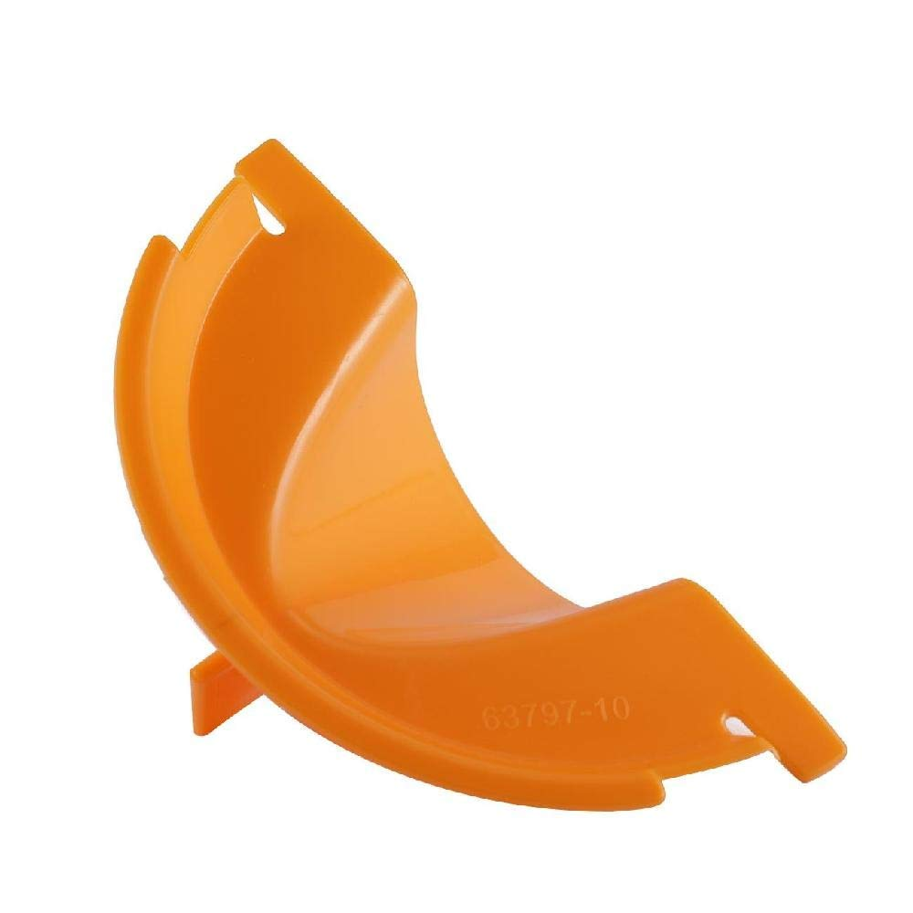 Fittings Partol Motorcycle Primary Case Derby Cover Oil Fill Funnel Orange Plastic for Harley Davidson Touring 99-06 Softail 00-06 Dyna