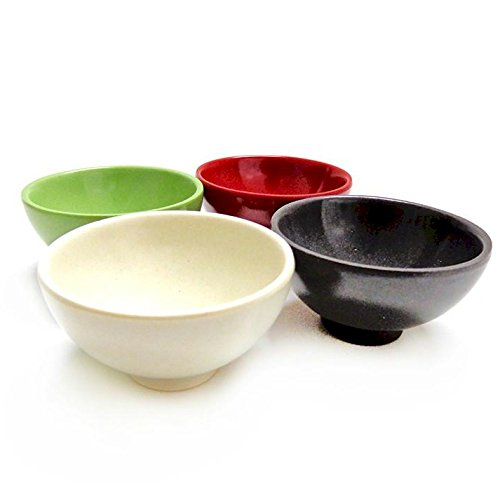 Natural Home Molded Bamboo Pinch Bowl Set