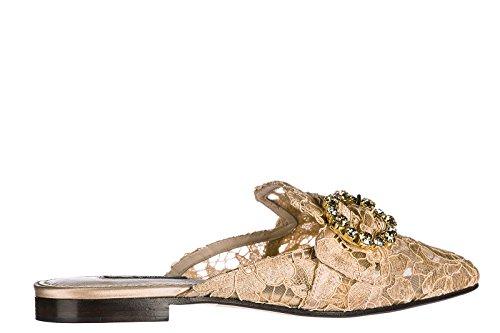 Dolce&Gabbana Ciabatte Donna Originale Jackie Rosa