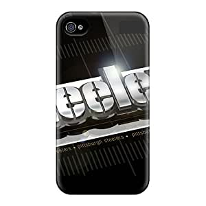 Hot Steelers First Grade Tpu Phone Case For Iphone 4/4s Case Cover