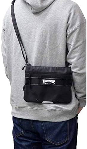 バッグ THREX100 メッセンジャー ショルダーバッグ 底部リフレクター マチなし 男女兼用 [並行輸入品]