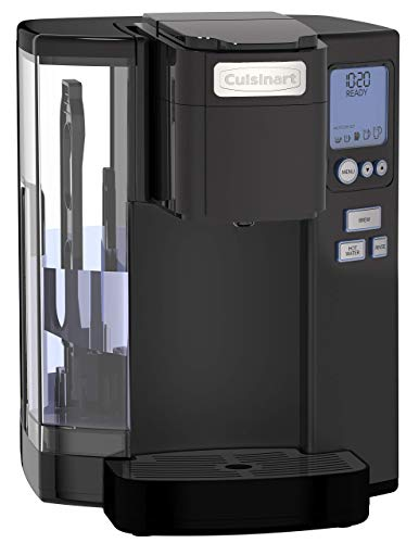 Cuisinart SS-10MB Premium Single-Serve Coffeemaker Coffeemaker, 72 Oz, Matte Black