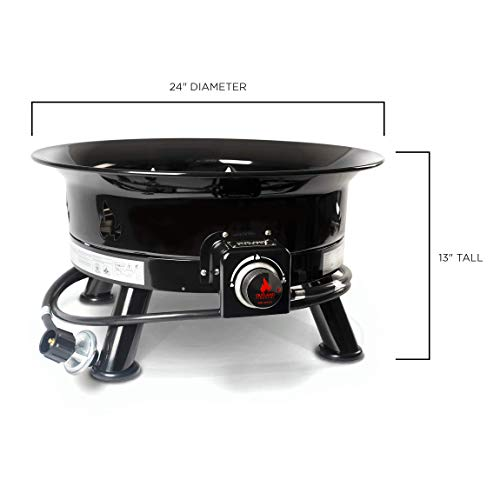 Outland Firebowl 883 Mega Outdoor Propane Gas Fire Pit ... on Outland Gas Fire Pit id=87830