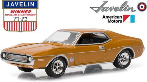 Price comparison product image 1973 AMC Javelin Trans Am Victory Edition Hobby Exclusive in Blister Pack 1 / 64 by Greenlight 29837