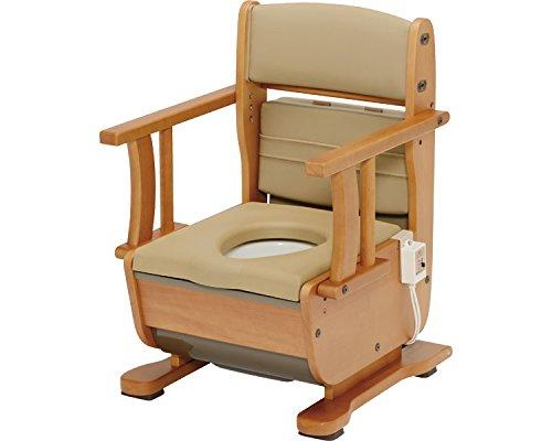 ウチエ さわやかチェア 泉II 肘掛け自在タイプホット便座ブラウン ウチエ 8256 さわやかチェア (ウチヱ) (ウチヱ) (木製トイレ) B01MRLSIK4, ひでちゃんの救急箱:af9335a6 --- ijpba.info