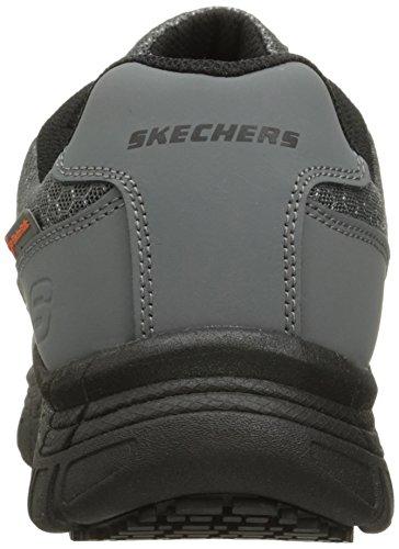 Skechers for Work Scarpe da lavoro da lavoro Conroe Uomo, Grigio