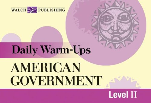 Daily Warm-Ups - American Government Level 2