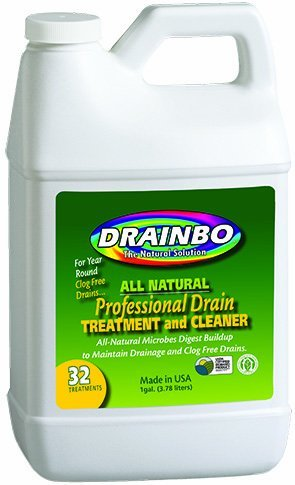 Drainbo Professional Drain Treatment and Cleaner, 1-Gallon by Drainbo