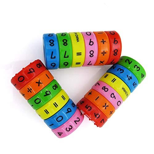 Liamostee Lot de 6 Puzzles magn/étiques Montessori pour Enfants