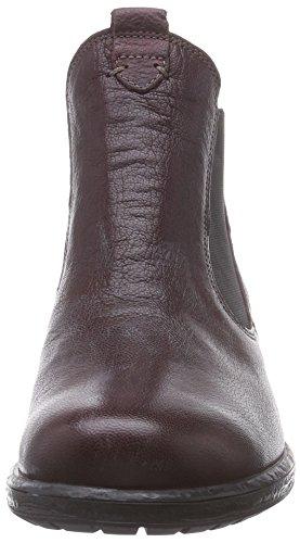 Think LIAB Chelsea Damen Chelsea Boots Rot (CHIANTI/KOMBI 35)