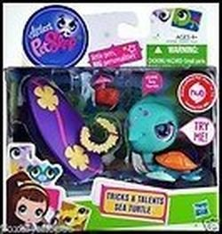Littlest Pet Shop Tricks & Talents Sea Turtle #2396