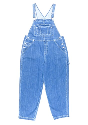 - BoundOveralls Plus Size Women's Denim Bib Overalls Size 16