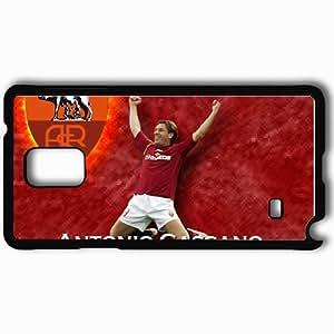 Personalized Samsung Note 4 Cell phone Case/Cover Skin Antonio Cassano Football Black