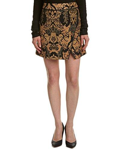 (Free People Damask Mini Skirt (8))