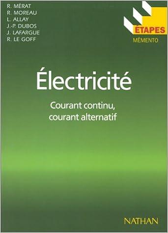 Téléchargement Etapes, numéro 50 : électricité, courant continu, courant alternatif pdf
