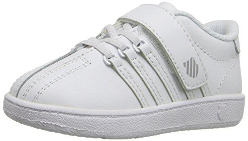 K-Swiss Classic VN VLC Shoe, White/White, 10 M US Toddler