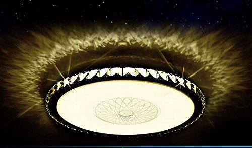 LED Deckenleuchte 2017 800 Kristall Bernstern 80cm InklLEDs Und Fernbedienung Lichtfarbe
