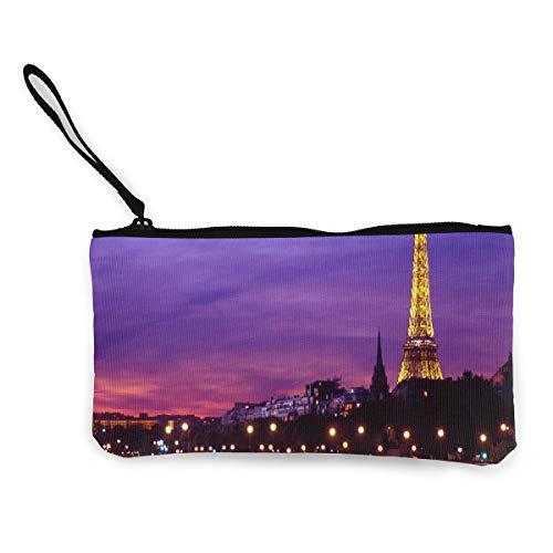 Canvas Coin Purse Eiffel...