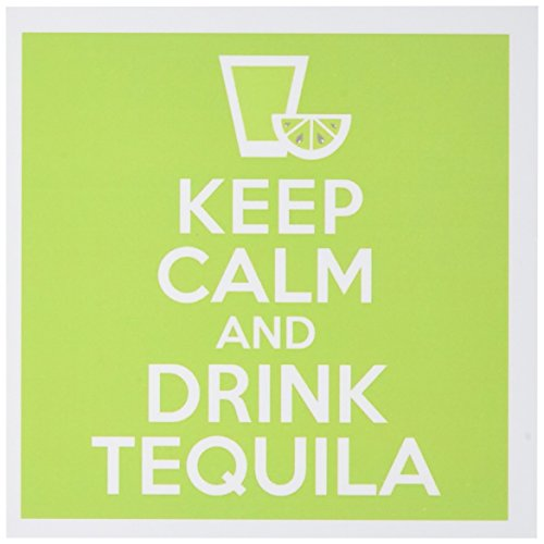 3dRose Set of 12 Greeting Cards, Keep Calm and Drink Tequila (gc_193604_2) (Tequila Rose Margarita)