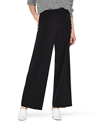 find. Standard Women's Wide Leg Pants, Black EU XXL (US 16)