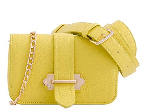Handbags Belt Bum Holiday Yellow Bags Bum Waist Women's Bag Bag LeahWard 291 wCqA0FC