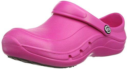 Toffeln Eziprotekta Unisex-Erwachsene Sicherheitsschuhe, Weiß, 45.5 EU Pink (Hot Pink)