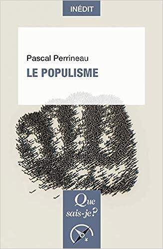 """Résultat de recherche d'images pour """"le populisme pascal perrineau"""""""