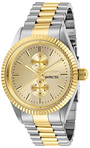 Invicta Men's Specialty Quartz Watch with Stainless Steel Strap, Two Tone, 22 (Model: 29425)
