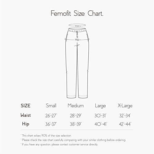 Femofit Pajama Pants for Women, Lounge Pant Cotton Pajama Pant Pajama Bottoms Sleepwear Pack of two S~XL