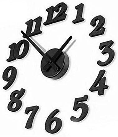 IDS TheWin 3D Reloj de Pared decoración para el hogar
