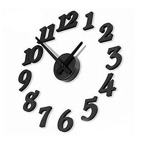 Contemporary DIY Self Adhesive Interior Wall Clock IDS BHBA739