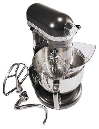 KitchenAid KP26M1XDP Professional 600 Series 6 Quart Stand Mixer, Dark  Pewter