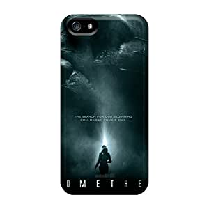 New Style ChrisHuisman Hard Cases Covers For Iphone 5/5s- Ridley Scott Prometheus