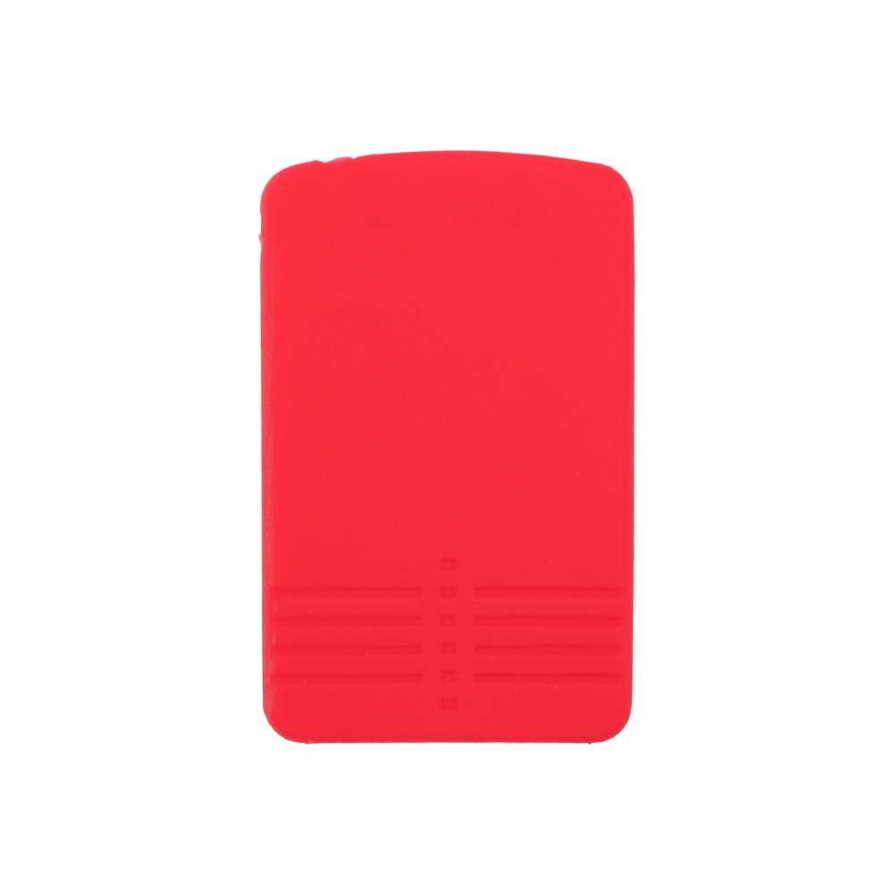 SEGADEN Silicone Cover Protector Case Skin Jacket fit for MAZDA 4 Button Smart Card Remote Key Fob CV4534 Black