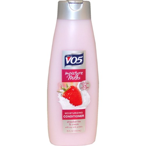 - Alberto Vo5 Moisture Milk Conditioner, Strawberries and Cream, 15 Ounce