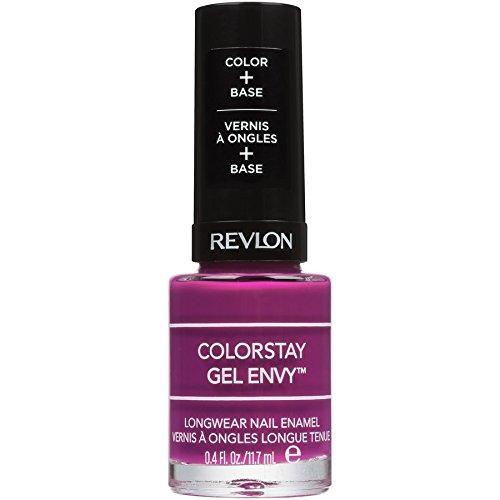 (Revlon ColorStay Gel Envy Longwear Nail Enamel, Berry Treasure)